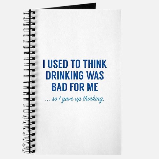 I Gave Up Thinking Journal