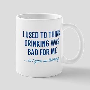 I Gave Up Thinking Mug