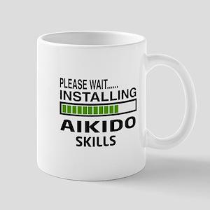 Please wait, Installing Aikido skills Mug