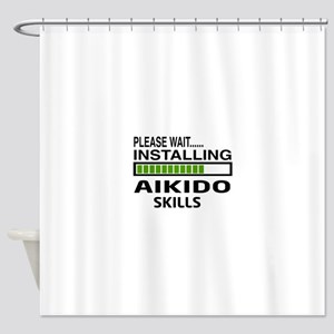 Please wait, Installing Aikido skil Shower Curtain