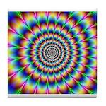 Optical Illusion 2 Tile Coaster