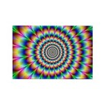 Optical Illusion 2 Rectangle Magnet (10 pack)