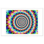 Optical Illusion 2 Large Poster