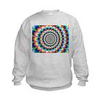 Optical Illusion 2 Kids Sweatshirt