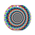 Optical Illusion 2 Ornament (Round)