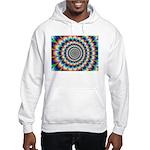 Optical Illusion 2 Hooded Sweatshirt