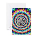 Optical Illusion 2 Greeting Card
