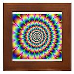 Optical Illusion 2 Framed Tile