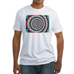 Optical Illusion 2 Fitted T-Shirt