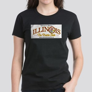 Illinois Ash Grey T-Shirt