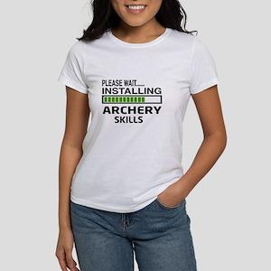 Please wait, Installing Archery sk Women's T-Shirt
