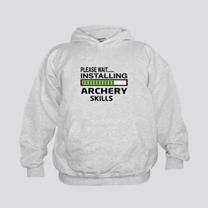 Please wait, Installing Archery skills Kids Hoodie