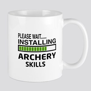 Please wait, Installing Archery skills Mug