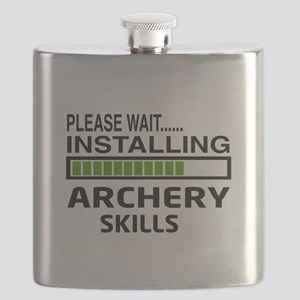 Please wait, Installing Archery skills Flask