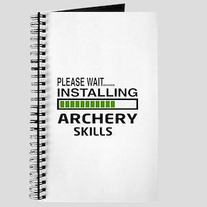 Please wait, Installing Archery skills Journal