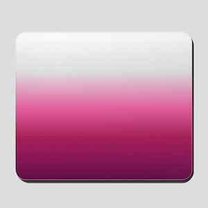 abstract magenta fuchsia ombre Mousepad