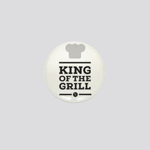 King of the grill Mini Button