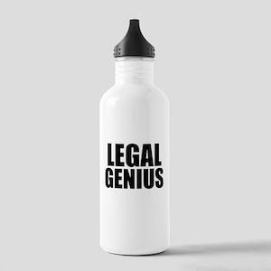 Legal Genius Water Bottle