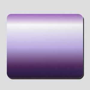 abstract lilac purple ombre Mousepad