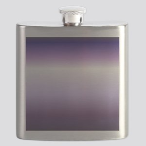 abstract lilac purple ombre Flask