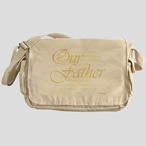 dk lords prayer Messenger Bag