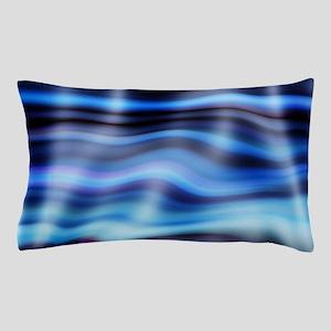 blue water ripples ocean beach decor Pillow Case