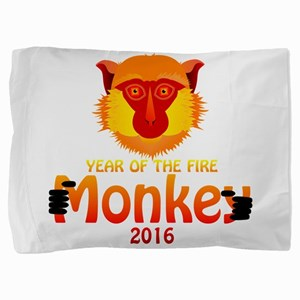 Year of the Monkey Pillow Sham