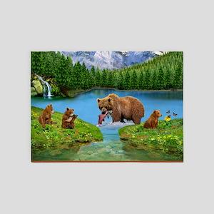 Great Bear Wilderness 5'x7'Area Rug