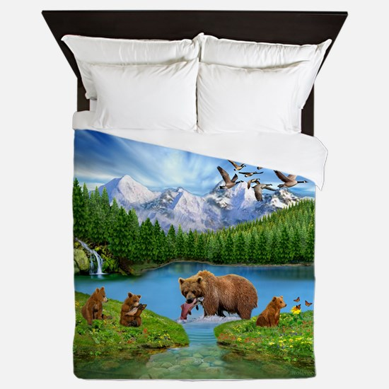 Great Bear Wilderness Queen Duvet