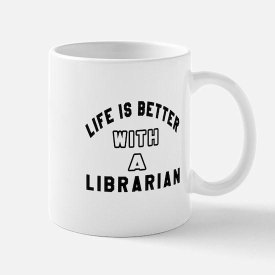 Librarian Designs Mug