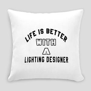 Lighting Designer Designs Everyday Pillow