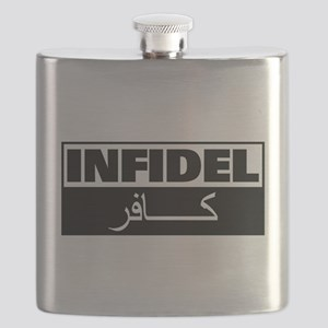 Infidel: English and Arabic Flask