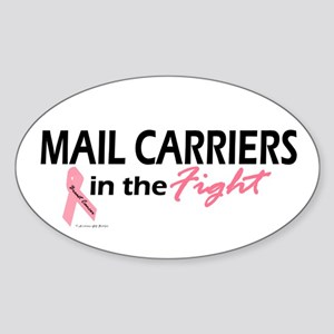 Mail Carriers In The Fight Oval Sticker