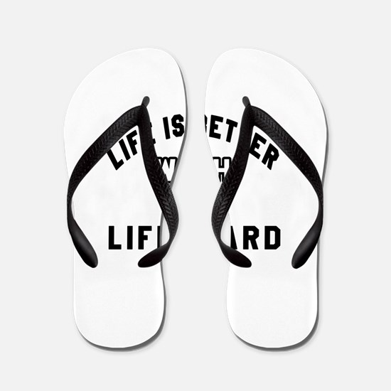 Lifeguard Designs Flip Flops