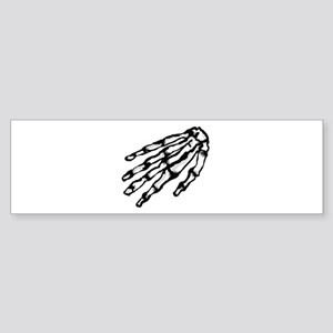 Skelett Hand Bumper Sticker