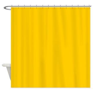 Mustard Shower Curtains