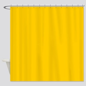 Abstract Summer Sunflower Yellow Shower Curtain