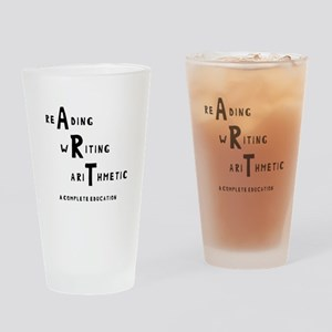 Complete Education Drinking Glass