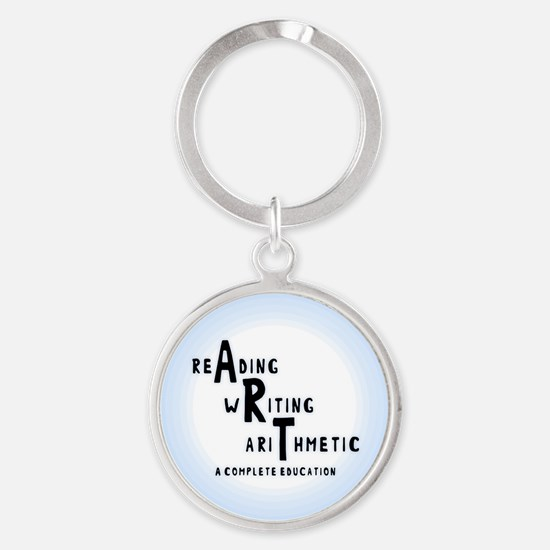 Complete Education Round Keychain