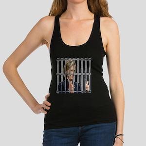 Hillary in Prison 2016 Racerback Tank Top