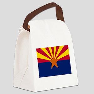 Flag of Arizona Canvas Lunch Bag