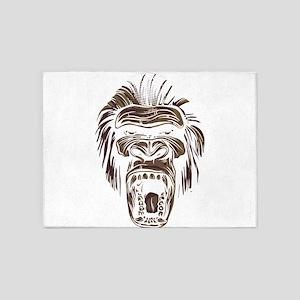 Monkey King 5'x7'Area Rug