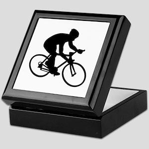 Cycling race Keepsake Box