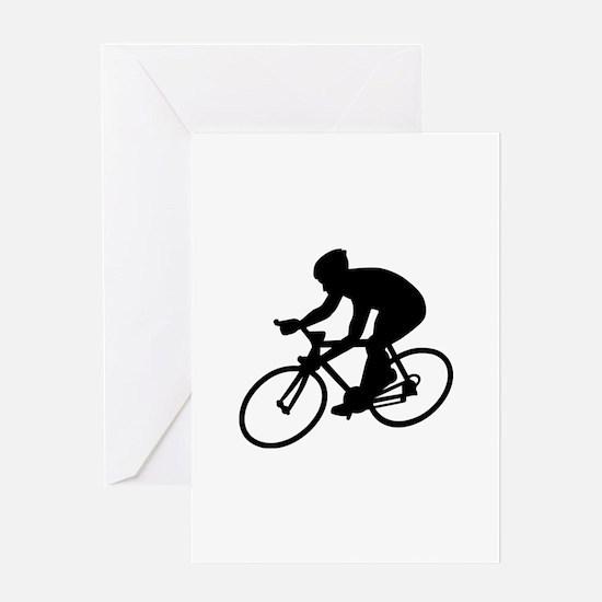 Cycling race Greeting Card