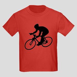 Cycling race Kids Dark T-Shirt