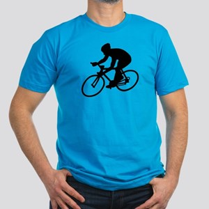 Cycling race Men's Fitted T-Shirt (dark)