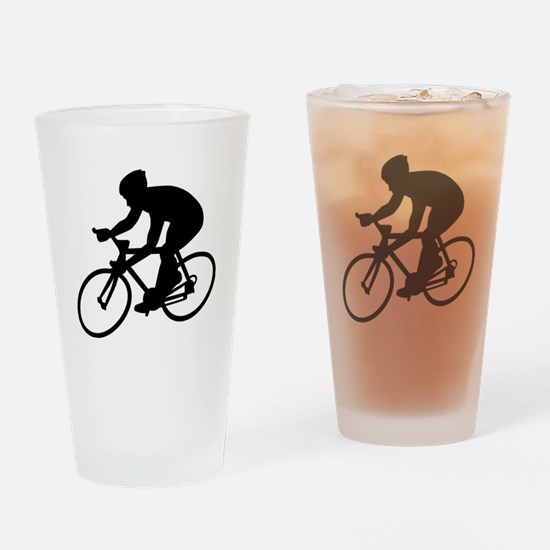 Cycling race Drinking Glass