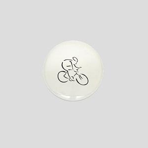 Cycling cyclist Mini Button