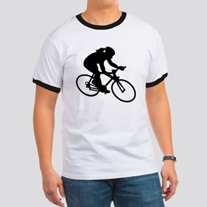Cycling woman girl Ringer T