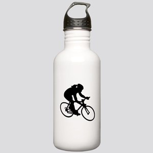 Cycling woman girl Stainless Water Bottle 1.0L